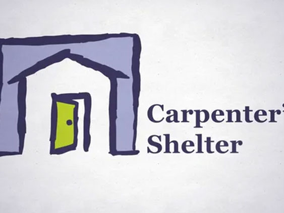 Carpenters Shelter - Work